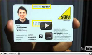GAS Safe Card
